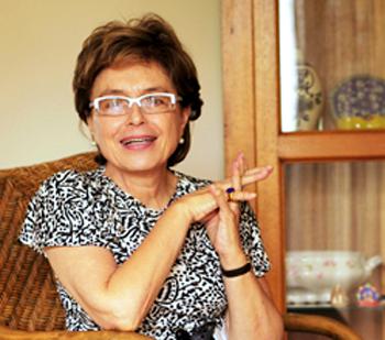 Na foto, Maria Teresa Eglér Mantoan, coordenadora do Laboratório de Estudos e Pesquisas em Ensino e Diversidade e professora da Faculdade de Educação da Universidade Estadual de Campinas, defensora da educação inclusiva no Brasil.Foto: Kaka Bratke