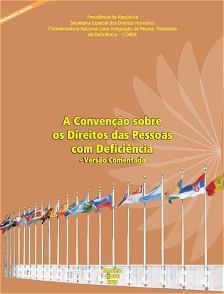 Capa da publicação, onde vê-se bandeiras de vários países, represnetando a fachada da ONU.