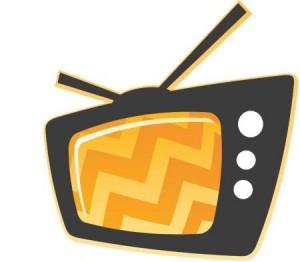 Imagem de uma TV fora de sintonia