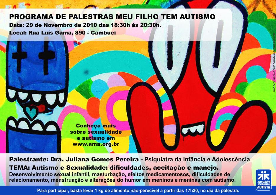 Flyer do evento - descrição a seguir