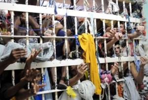 Prisão lotada