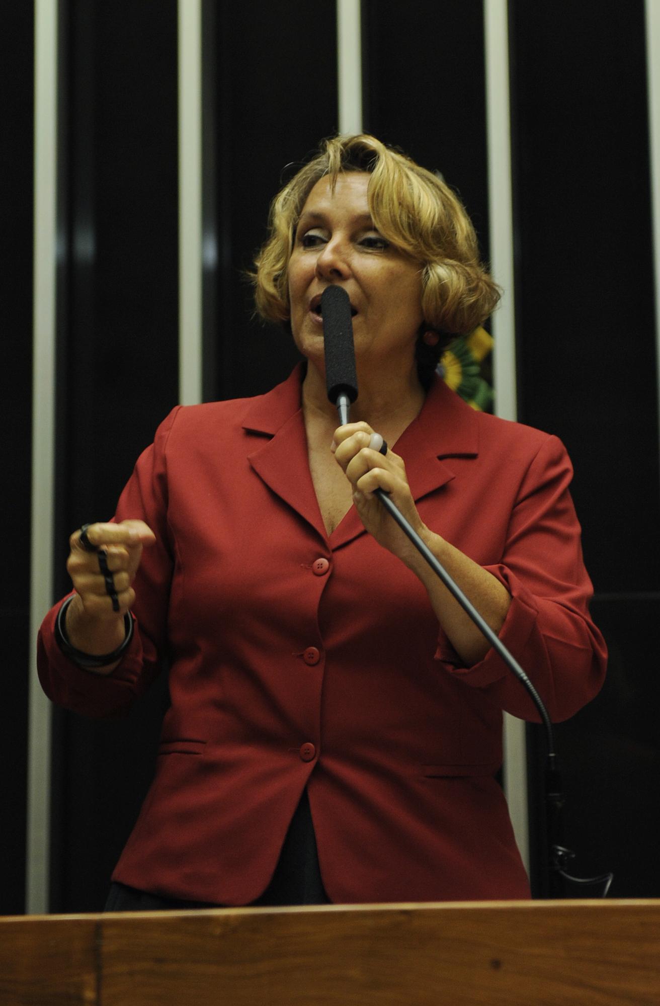 Deputada Erika Kokay