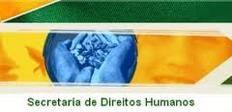 Logotipo da Secretaria de Direitos Humanos - Bandeira do Brasil estilizada