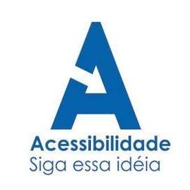 logotipo acessibilidade siga essa ideia.