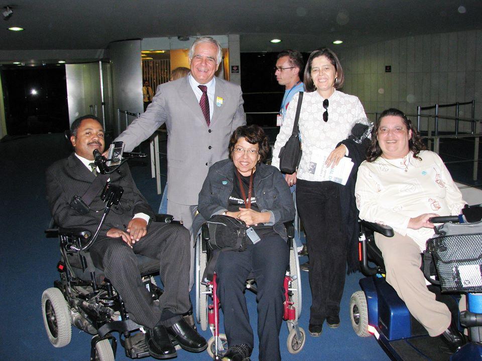 Marco Pellegrini, Marcos Bandeira, Izabel Maior, assessora jurídica da SDH e Flavia Vital.