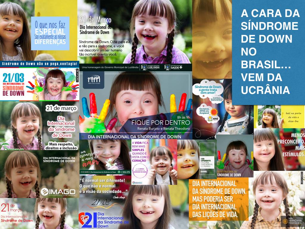 varias fotos da menina maria em publicidades.