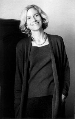 Retrato em preto e branco de Martha Nussbaum