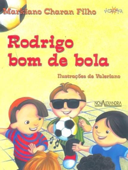 Capa do livro: ilustração de crianças jogando bola; uma delas usa óculos, indicando a cegueira
